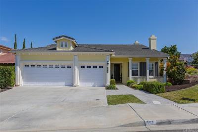 Chula Vista Single Family Home For Sale: 699 Chapel Hill Drive