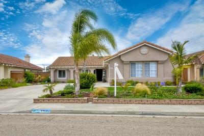 Oceanside Single Family Home For Sale: 4468 San Joaquin Street