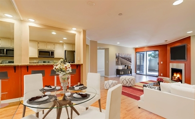 San Diego CA Attached For Sale: $525,000