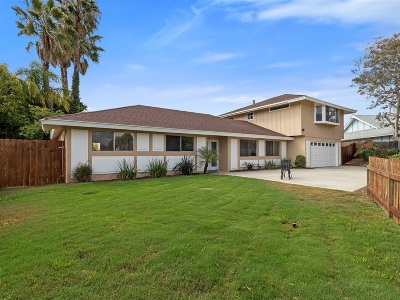 Carlsbad CA Single Family Home For Sale: $975,000