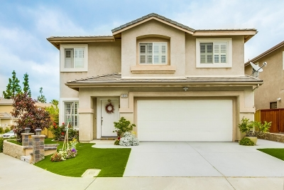 San Diego CA Single Family Home For Sale: $769,000