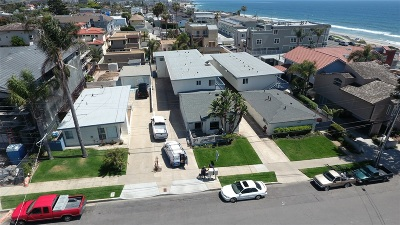 Carlsbad Multi Family 5+ For Sale: 141-155 Cherry Avenue