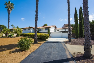 Vista Single Family Home For Sale: 29719 Nella Lane