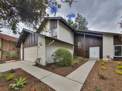 San Diego CA Single Family Home For Sale: $919,000