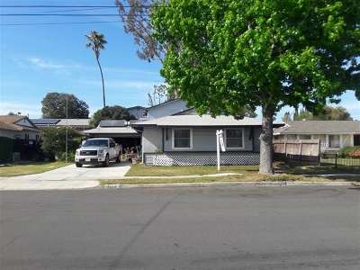 San Diego CA Single Family Home For Sale: $649,000