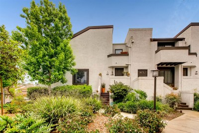 San Diego CA Townhouse For Sale: $525,000