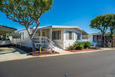 Carlsbad Mobile/Manufactured Sold: 3443 Don Lorenzo Dr