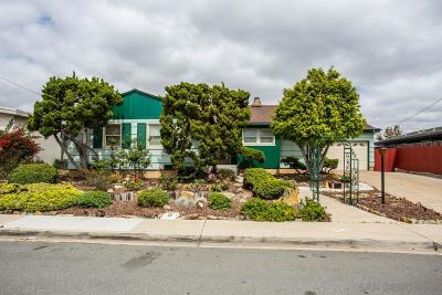San Diego Single Family Home Pending: 5661 Dorothy Way