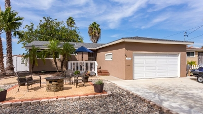 San Diego CA Single Family Home For Sale: $640,000