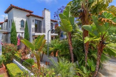 Coronado Single Family Home For Sale: 258 H Avenue