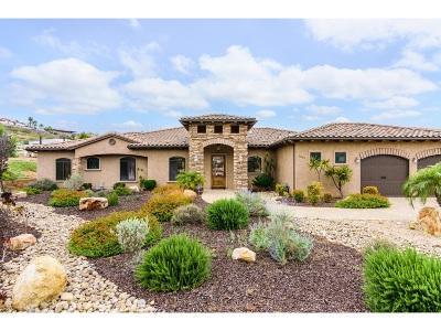 el cajon Single Family Home For Sale: 9669 Pine Blossom