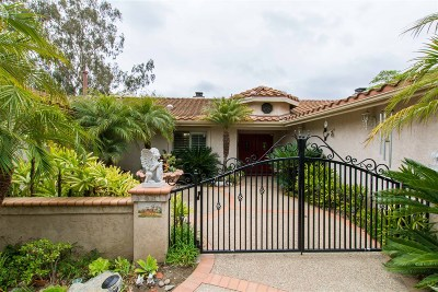Oceanside Single Family Home For Sale: 835 Grove View Road