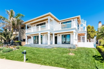 La Jolla Single Family Home For Sale: 5663 Chelsea Ave