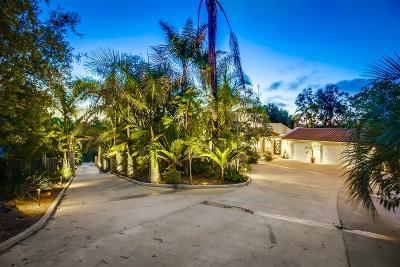 Vista Single Family Home For Sale: 1789 Hartwright