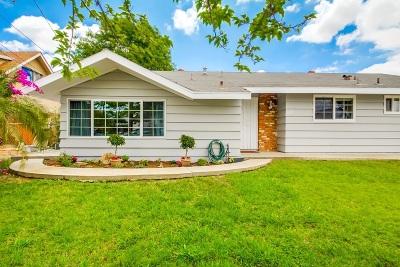 Escondido Single Family Home For Sale: 2329 Scott Way