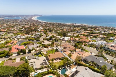 La Jolla Single Family Home For Sale: 5910 Germaine Lane
