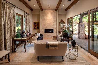 Rancho Santa Fe Single Family Home For Sale: 18504 Calle La Serra