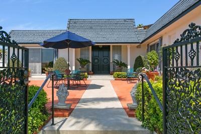 La Jolla Single Family Home For Sale: 1586 Vista Claridad