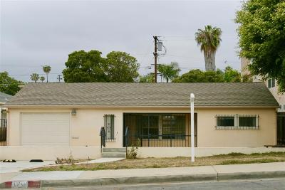 Pacific Beach, Pacific Beach Sail Bay, Pacific Beach, North Pacific Beach, Pacific Beach/Crown Point Single Family Home For Sale: 1636 Reed Ave