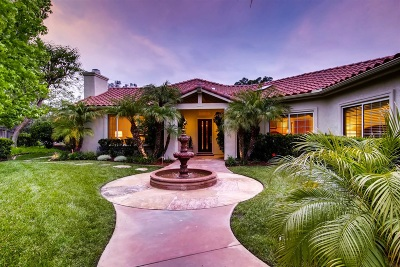 Poway Single Family Home For Sale: 15684 Oakstand Rd