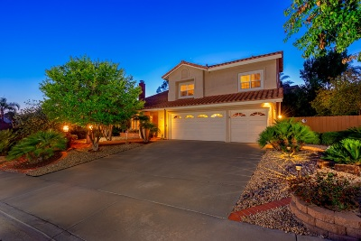 Poway Single Family Home For Sale: 14510 Maplewood Street