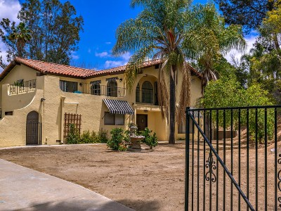 Escondido Single Family Home For Sale: 731 Bear Valley Pkwy