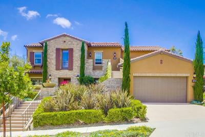 Carlsbad Single Family Home For Sale: 7511 Paseo Cristal