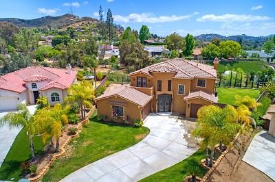 el cajon Single Family Home For Sale: 608 Sandra Lane