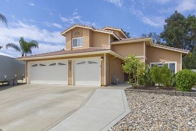 Santee Single Family Home For Sale: 9964 Jill St.