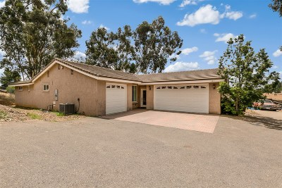 Escondido CA Single Family Home For Sale: $649,900