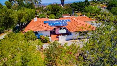 Vista Single Family Home For Sale: 2110 Camino Cantera