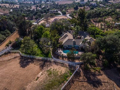 Bonsall CA Single Family Home For Sale: $1,589,000