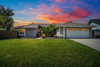 Carlsbad Single Family Home For Sale: 912 Begonia