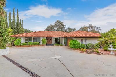 Single Family Home For Sale: 12611 Senda Acantilada