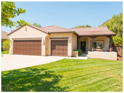 Escondido Single Family Home Sold: 3288 Meadow Side Pl