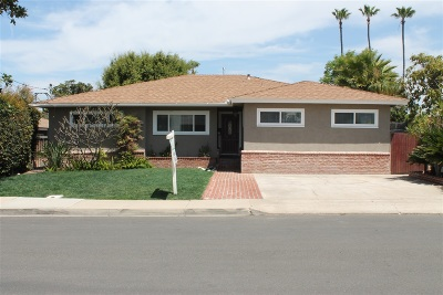 San Diego Single Family Home For Sale: 5882 Adams Ave.