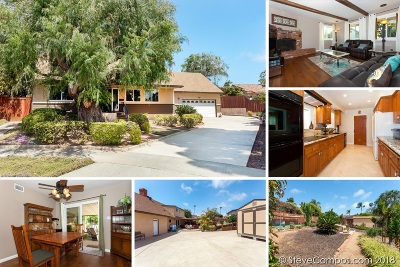 Carlsbad Single Family Home For Sale: 3410 Woodland Way
