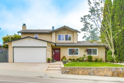 San Diego CA Single Family Home For Sale: $1,139,000