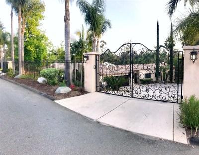 Rancho Santa Fe Rental For Rent: 17448 Via Cuatro Caminos