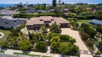 La Jolla Single Family Home For Sale: 5980 La Jolla Mesa Drive