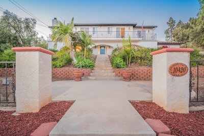 Single Family Home Back On Market: 10420 San Vicente Blvd