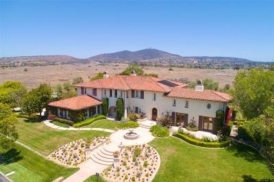 Single Family Home For Sale: 14165 Caminito Vistana