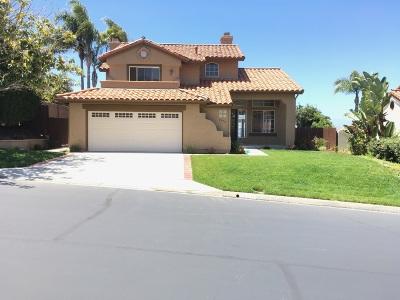 Oceanside Single Family Home For Sale: 5076 Nighthawk