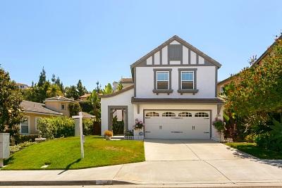 San Elijo Hills Single Family Home Pending: 1517 Black Walnut Drive