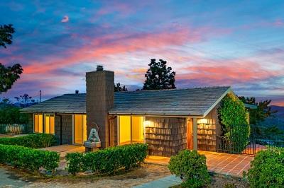 Escondido Single Family Home For Sale: 29596 Welk Highland