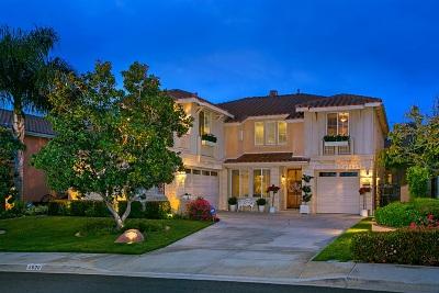 La Costa Valley Single Family Home For Sale: 2920 Avenida Pimentera