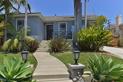 La Jolla Single Family Home Sold: 5661 La Jolla Hermosa