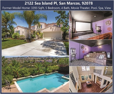 Single Family Home For Sale: 2122 Sea Island Pl