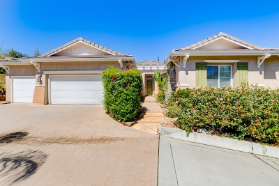 Escondido Single Family Home For Sale: 3083 Reed Road