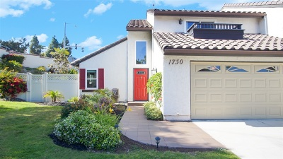 Carlsbad Attached For Sale: 1750 Cottonwood Ave